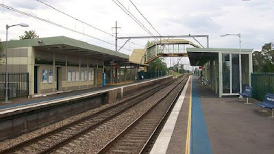 haunted railway stations, macquarie fields train station australia
