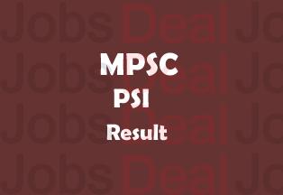 MPSC PSI Result 2017
