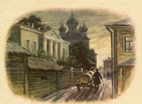illjustracii-rasskaz-Mumu-Turgeneva-kartinki-risunki-Gerasim-bochka