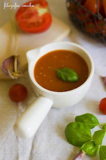 (zupa z pieczonych pomidorow