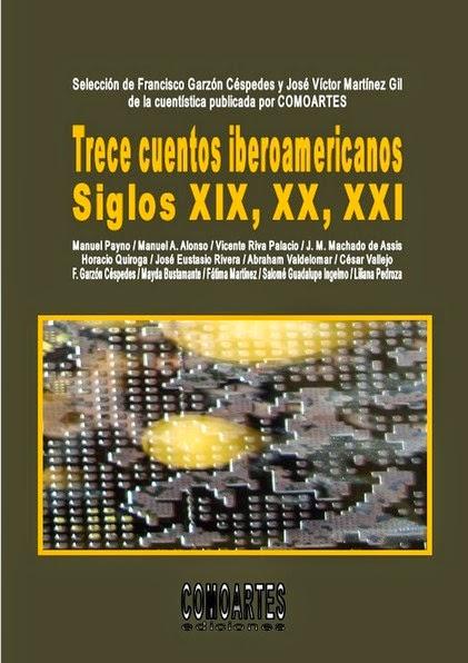 Salomé Guadalupe Ingelmo, Trece cuentos iberoamericanos, Antología iberoamericana, Libros de Salomé Guadalupe Ingelmo