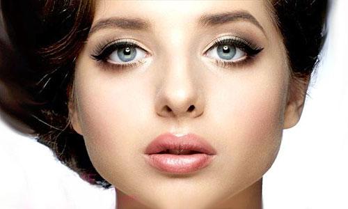 maquillaje ojo ahumado para agrandar ojos pequeños