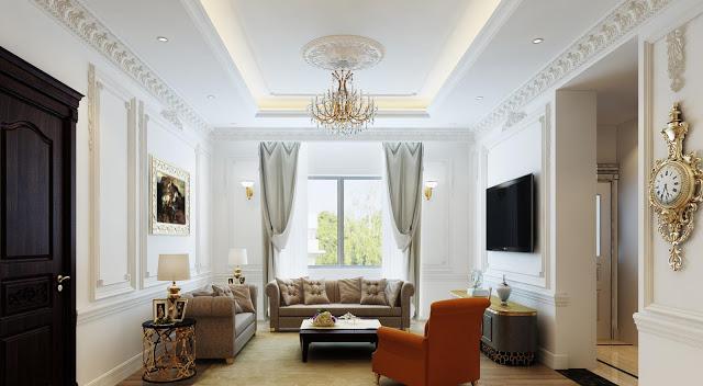 Phong cách thiết kế căn hộ 4 phòng ngủ cao cấp rất được ưa chuộng hiện nay - H1
