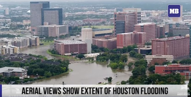 Aerial views show extent of Houston flooding - Manila Bulletin Online