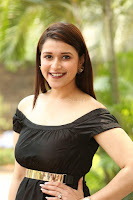 Mannara Chopra in Short Off Shoulder Black Dress ~  Exclusive 054.JPG
