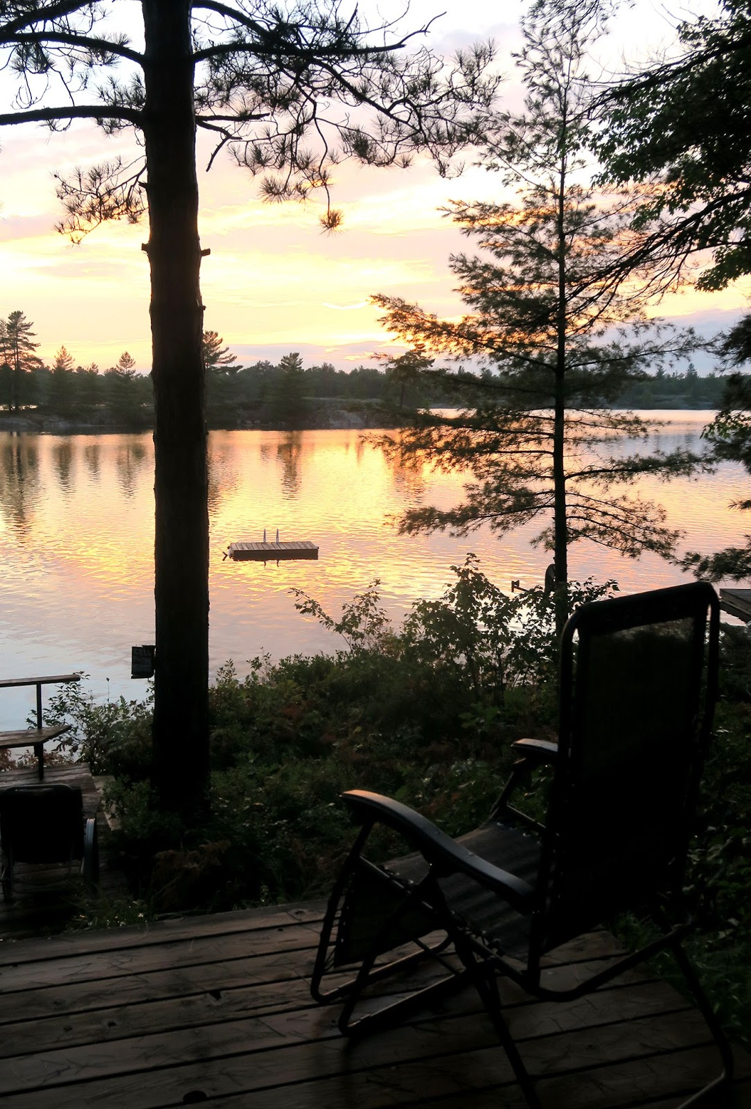 A week at the cottage in Washago, Muskoka, Canada!
