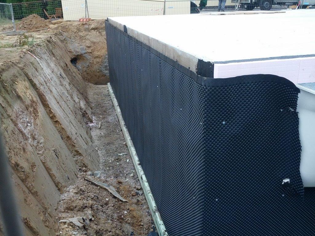Bauen mit Danwood Park 169W Keller Anschluß