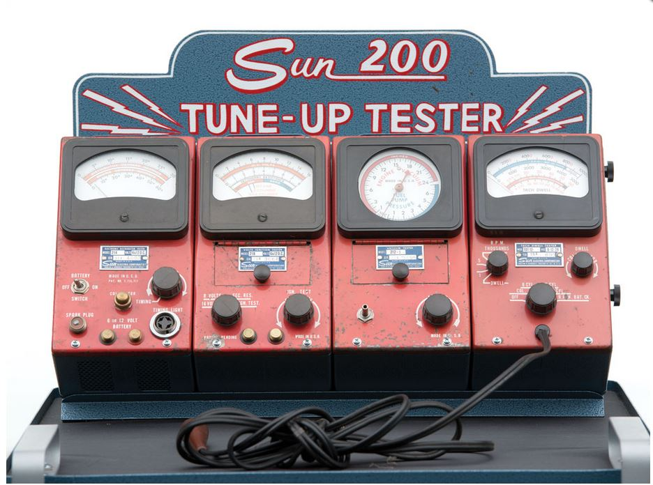 just a car guy how much does a sun tune up tester go for 5000. Black Bedroom Furniture Sets. Home Design Ideas