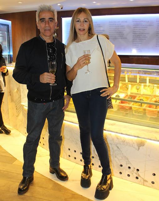 Roxana Salerno y Jorge Barragan
