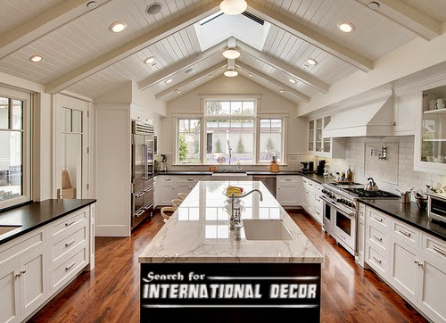 Classic Kitchen Attic Interior Design