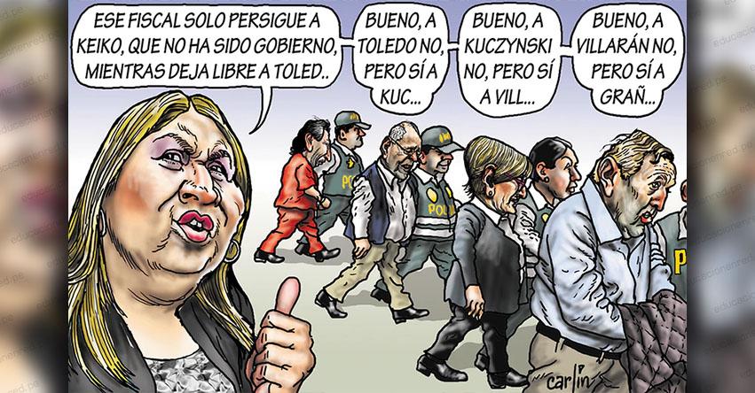 Carlincaturas Domingo 25 Agosto 2019 - La República