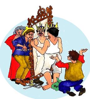 Raja Bodoh dan Dua Penipu