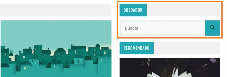 widget busqueda blog