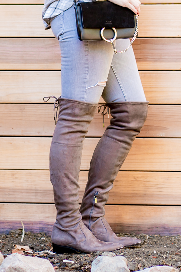 grey otk tie back boots marc fisher parlor girl