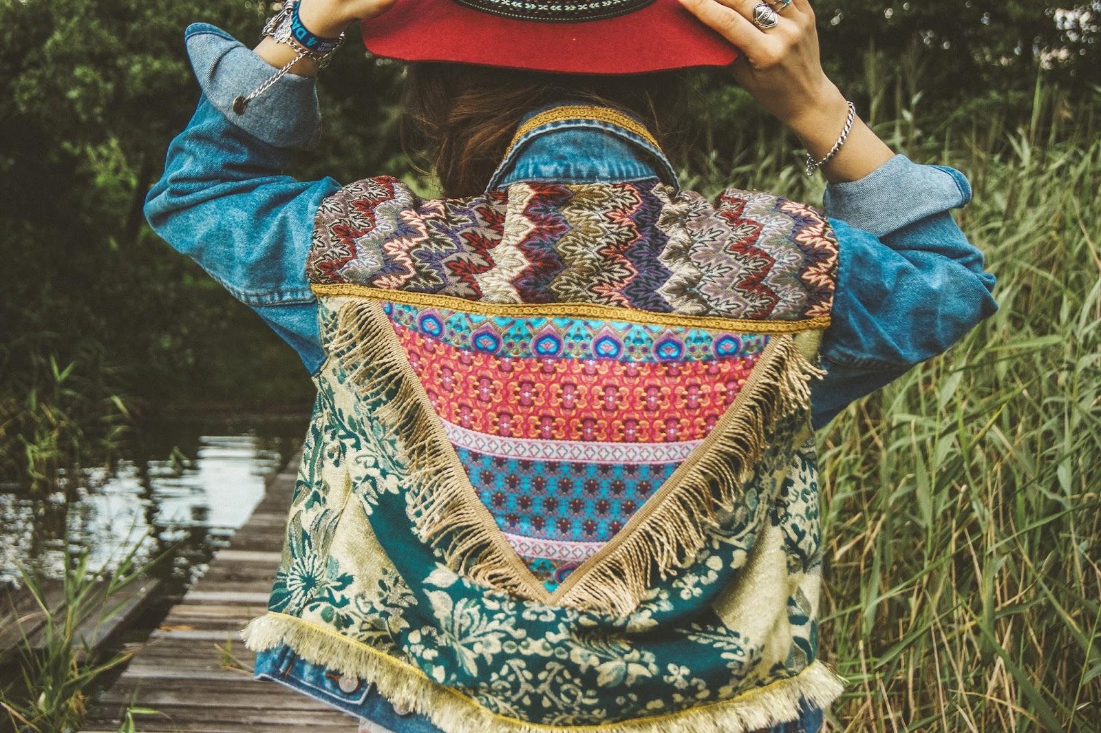 denim jacket with fringe