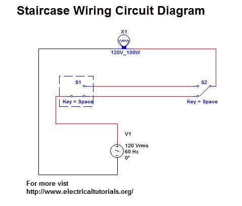 staircase wiring circuit diagram staircase wiring circuit complete guide in urdu / hindi ...