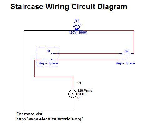 Staircase Wiring Circuit Complete Guide In Urdu  Hindi