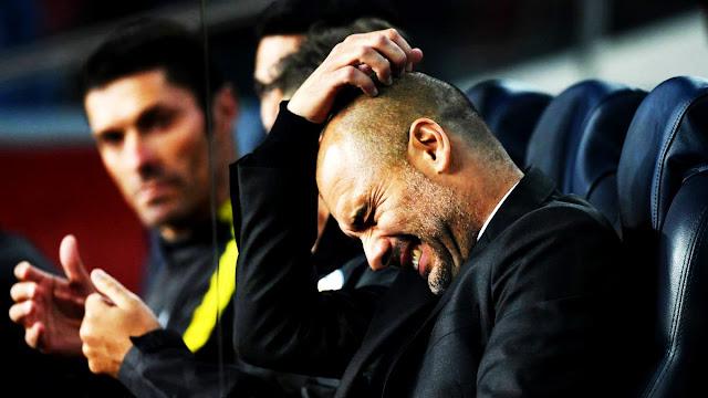 A complicada vida de Guardiola em Mnachester
