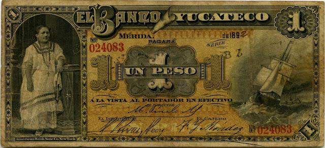 Mexican peso banknote bill cash