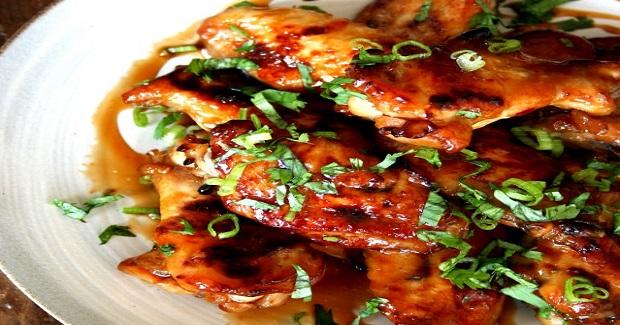 Sriracha Teriyaki Wings Recipe