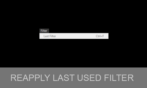 Reapply Last Used Filter in Photoshop With or Without Dialog