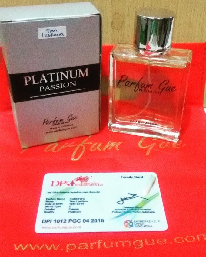 Parfum Saya, Ya Parfum Gue