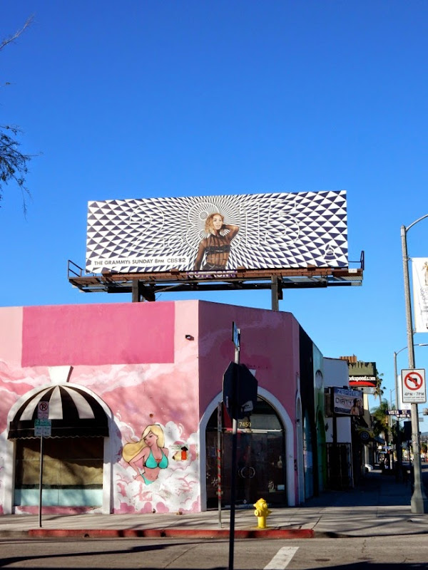 57th Grammys Beyonce billboard