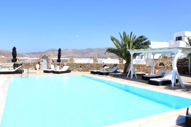 Liostasi hotel & spa private sharing pool