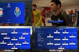UEFA Champions League Scoreboard - PES 2019