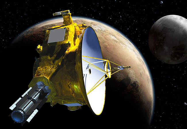 Tinuku NASA's New Horizons detects hydrogen wall surrounding solar system