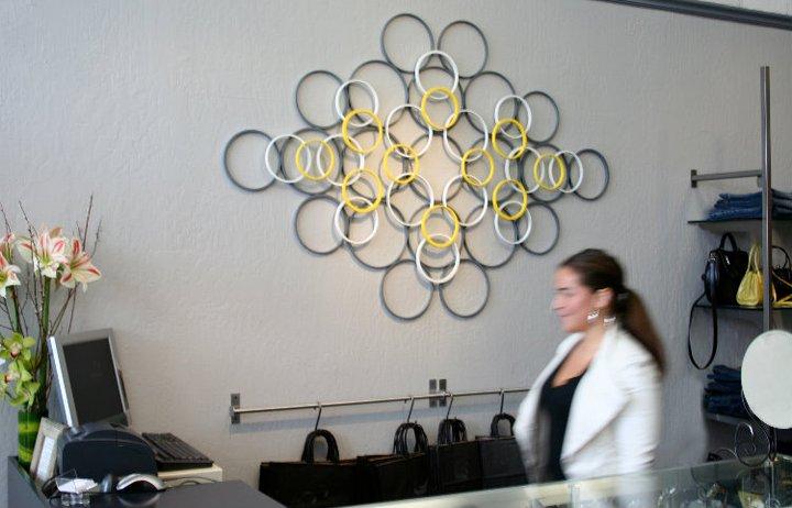Wanddecoratie woonkamer zelf maken he45 for Zelf muurdecoratie maken