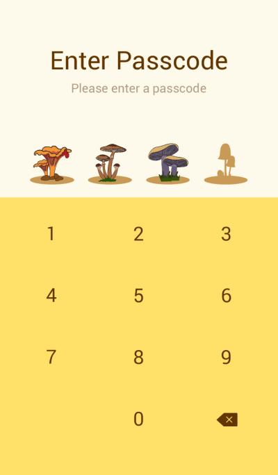 Mushroom Colorful V.1
