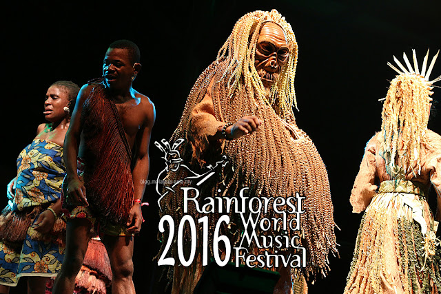 Review of Rainforest World Music Festival