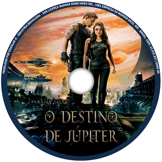 Label DVD O Destino De Júpiter