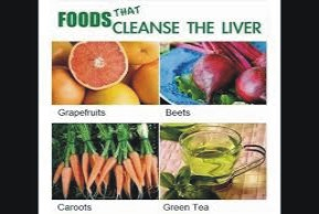 diet that cleanse the liver naturally