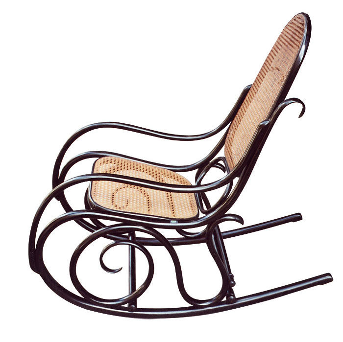 Of Course A Thonet Rocking Chair Known As No 10 Was Invented Well