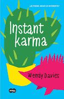 Resultado de imagen de instant karma libro