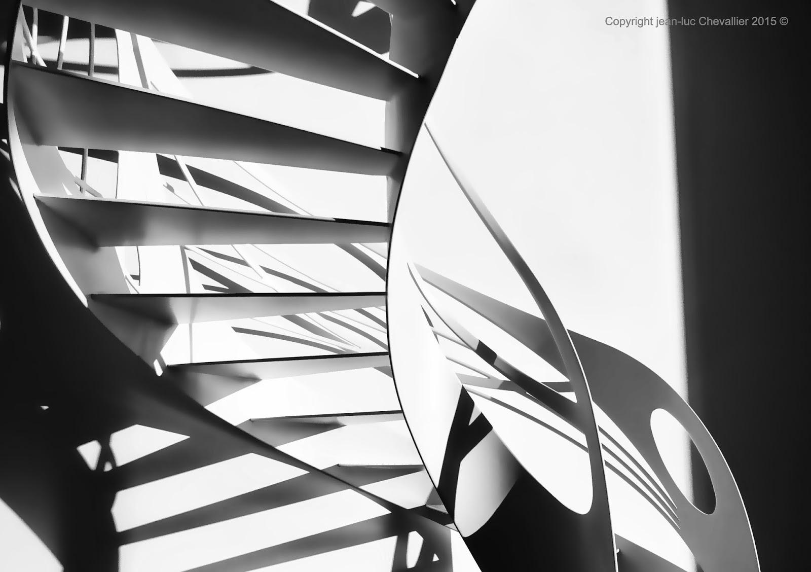 la stylique escalier design h lico dal l art du colima on. Black Bedroom Furniture Sets. Home Design Ideas