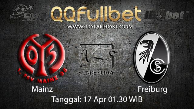 BOLA88 - PREDIKSI TARUHAN BOLA MAINZ VS FREIBURG 17 APRIL 2018 ( GERMAN BUNDESLIGA )