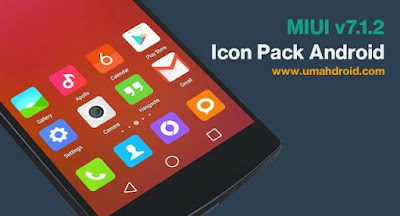 Update Xiaomi MIUI versi 7.1.2 Icon Pack Android