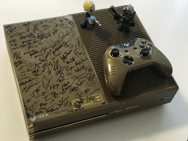 Gana una Xbox One firmada por el equipo de Fallout 4