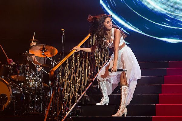 Selena Gomez first concert