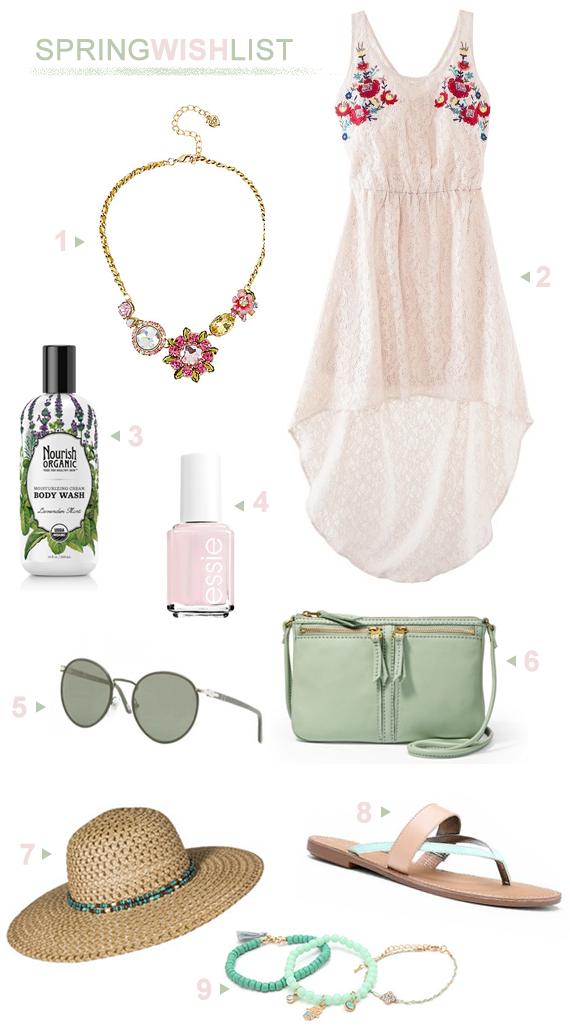 A Spring Wish List (+ Springtime Shopping Savings!)