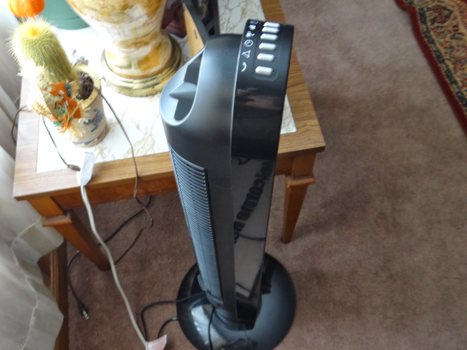 Ozeri 360 Tower Fan Review! – X-Mas Dolly