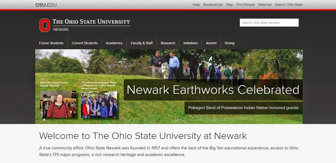 Newark Earthworks Celebrated. The Ohio State University at Newark.