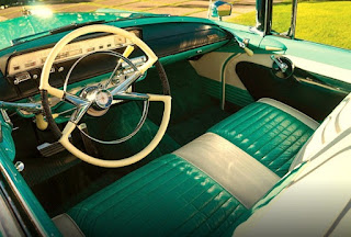 1956 Lincoln Premiere Convertible Dashboard