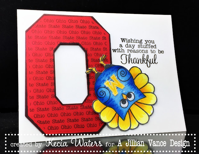 AJVD, Kecia Waters, Ohio State, Buckeyes, Beat M!ch!G@n!, Copic markers