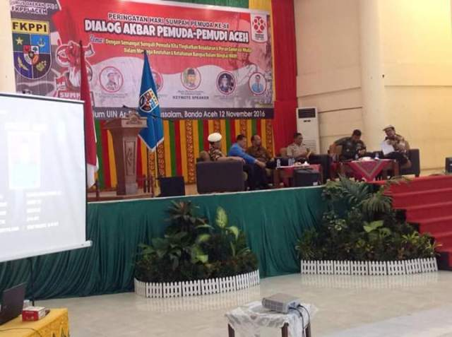 PD I KB FKPPI Aceh Adakan Dialog Akbar Pemuda Pemudi Aceh