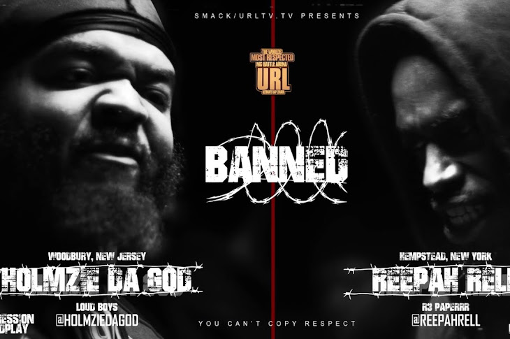 URL Released A BANNED Battle With Holmzie Da God VS Reepah Rell