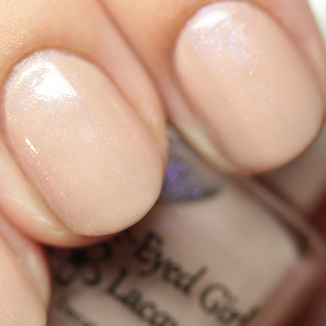 Blue-Eyed Girl Lacquer Flash Forward Fantasy